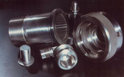 Thread grinding component parts